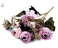 1bunch4光紫人工Buttercup海/うさぎ/オオカミ/ひつじ/花束、花、咲く、様々な装飾