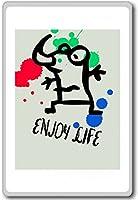 Enjoy Life - Motivational Quotes Fridge Magnet - ?????????