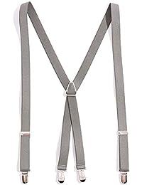 バレッタ 日本製 ベーシックタイプ 無地カラー サスペンダー メンズ