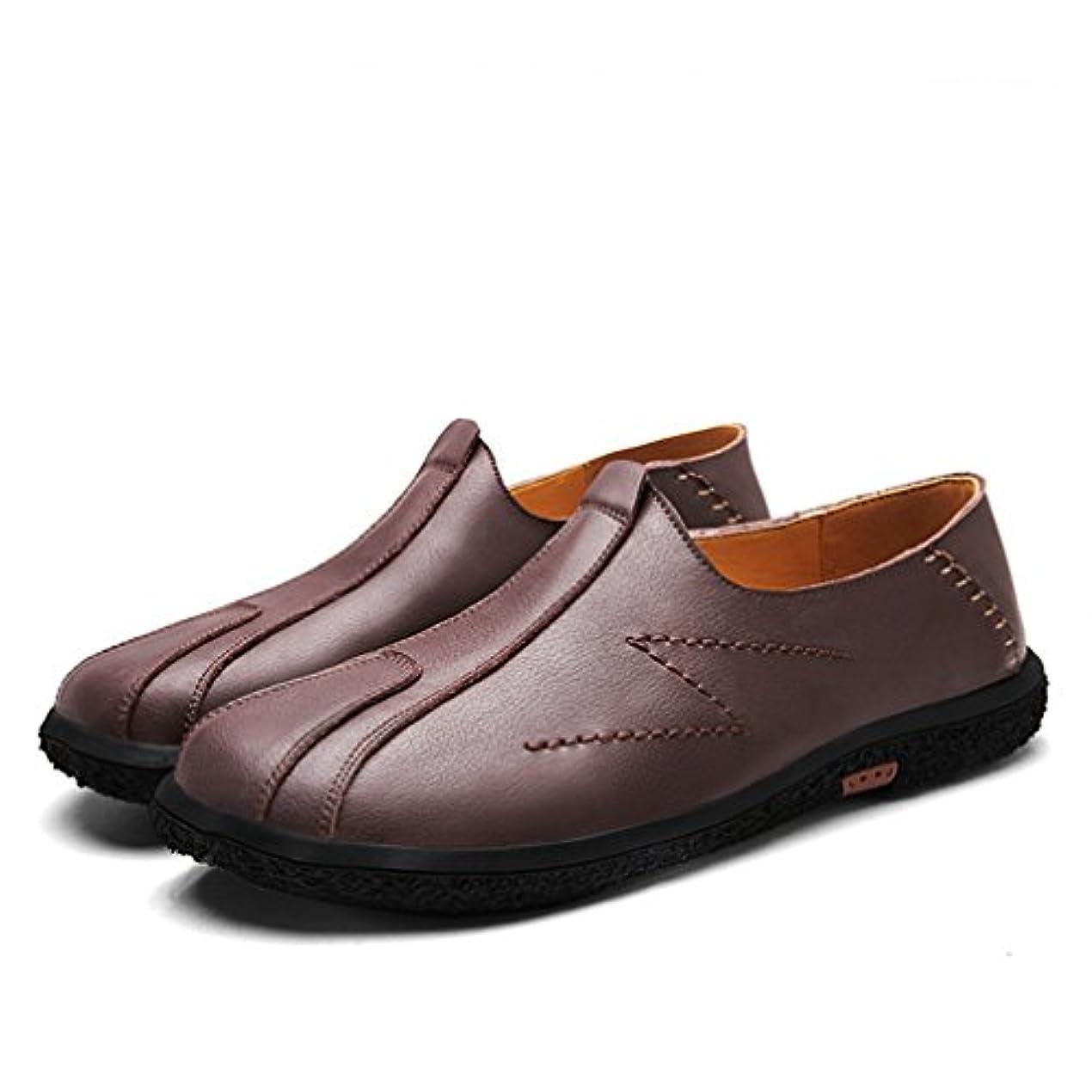 コロニアル所得ピカリング[OM]メンズ 牛革 ドライビングシューズ 軽量 スリッポンシューズ 2種履き方 クラシック 職場用 ローファー モカシン 革靴 かかと踏める 本革 柔らかい カジュアルシューズ