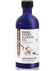 マクロビータ スイートアーモンドオイル 100ml ギリシャ自然派化粧品コスメオイル (天然成分100%)