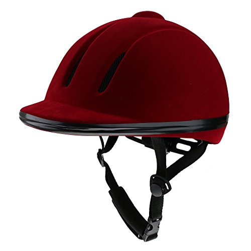 [해외]GRALARA 공기 승마 헬멧 안전 로우 프로파일 승마 모자 2 색 다 크기 선택할 - 빨강~ M/GRALARA helmet for aeration riding Horse safety Low profile Horse riding Hat 2 colors Multi-size Choose - Red~ M