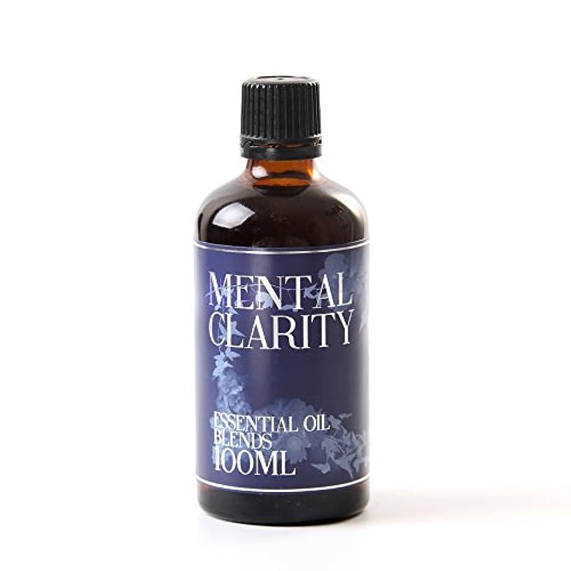 表面見分ける死の顎Mystic Moments | Mental Clarity Essential Oil Blend - 100ml - 100% Pure