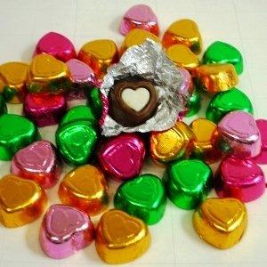 二色ハートチョコレート 業務用 1kg