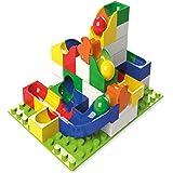 Hubelino ドイツ製 ブロック ビー玉転がし Lego レゴ デュプロ 兼用 滑車拡張セット (43ピース)
