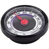 Saikogoods 1ピースミニポータブル正確な耐久性アナログ湿度計湿度計ミニパワーフリー用屋内屋外家庭用