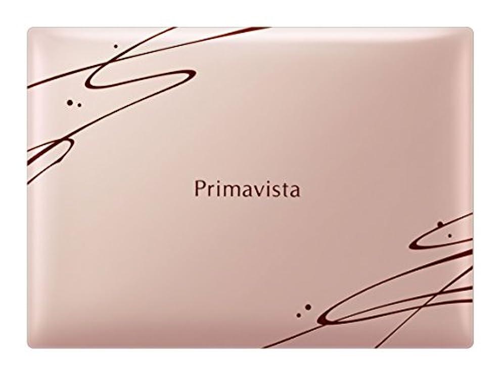 ヒゲなめらかなスーツケースソフィーナ プリマヴィスタ きれいな素肌質感パウダーファンデーション(オークル03)+限定デザインコンパクト