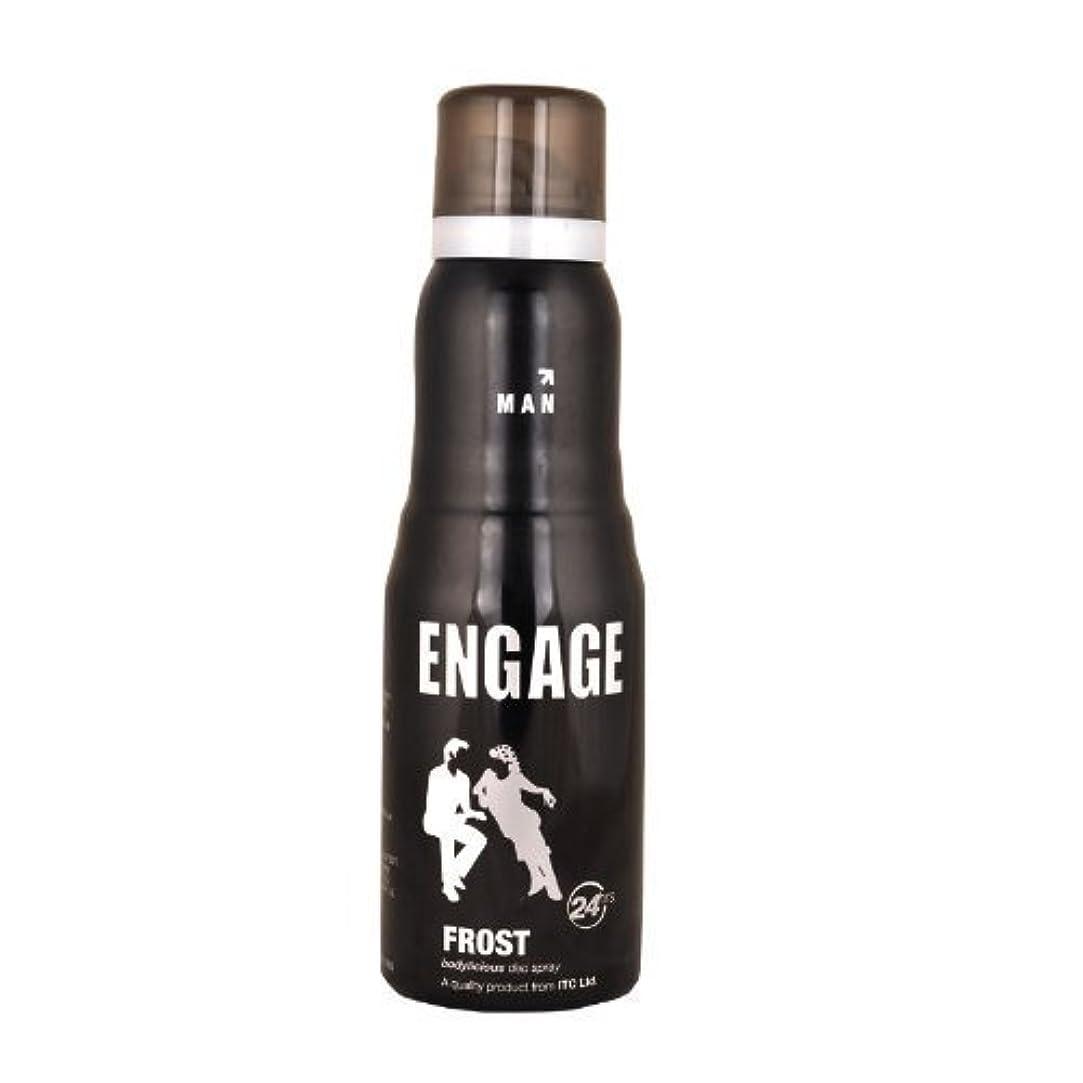 異議。母音Engage New Metal Range Frost Deodorant Spray For Men, 150ml / 165ml (Weight May Vary)