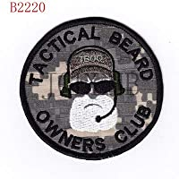 IDEA HIGH NSWDG DEVGRUシールチーム6Beardオーナーズクラブの士気刺繍パッチバッジ:B2220
