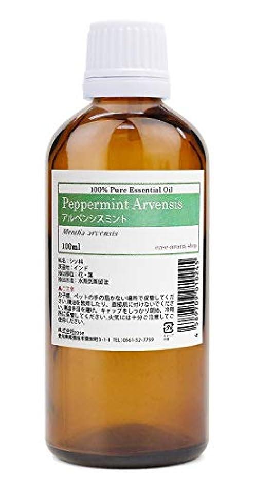 ボトルネックキッチンに応じてease アロマオイル エッセンシャルオイル アルベンシスミント 100ml AEAJ認定精油