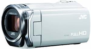 JVCKENWOOD JVC ビデオカメラ EVERIO GZ-E565 内蔵メモリー32GB ホワイト GZ-E565-W