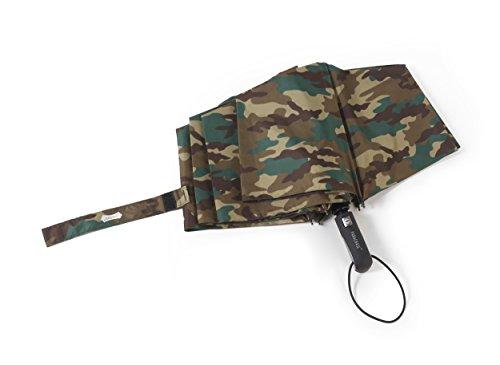 PARACHASE 折りたたみ傘 自動開閉 折り畳み傘 大きい 傘 超大型 耐風 ワンタッチ メンズ 撥水 グラスファイバー おしゃれ 8本骨 70cm 二人用可能 直径122cm 日本国内品質保証 (X3-迷彩)