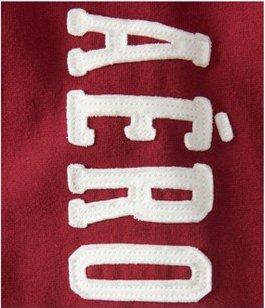 AEROPOSTALE(エアロポステール) メンズ パーカー Aero Patch Heritage Full-Zip Hoodie [並行輸入品]