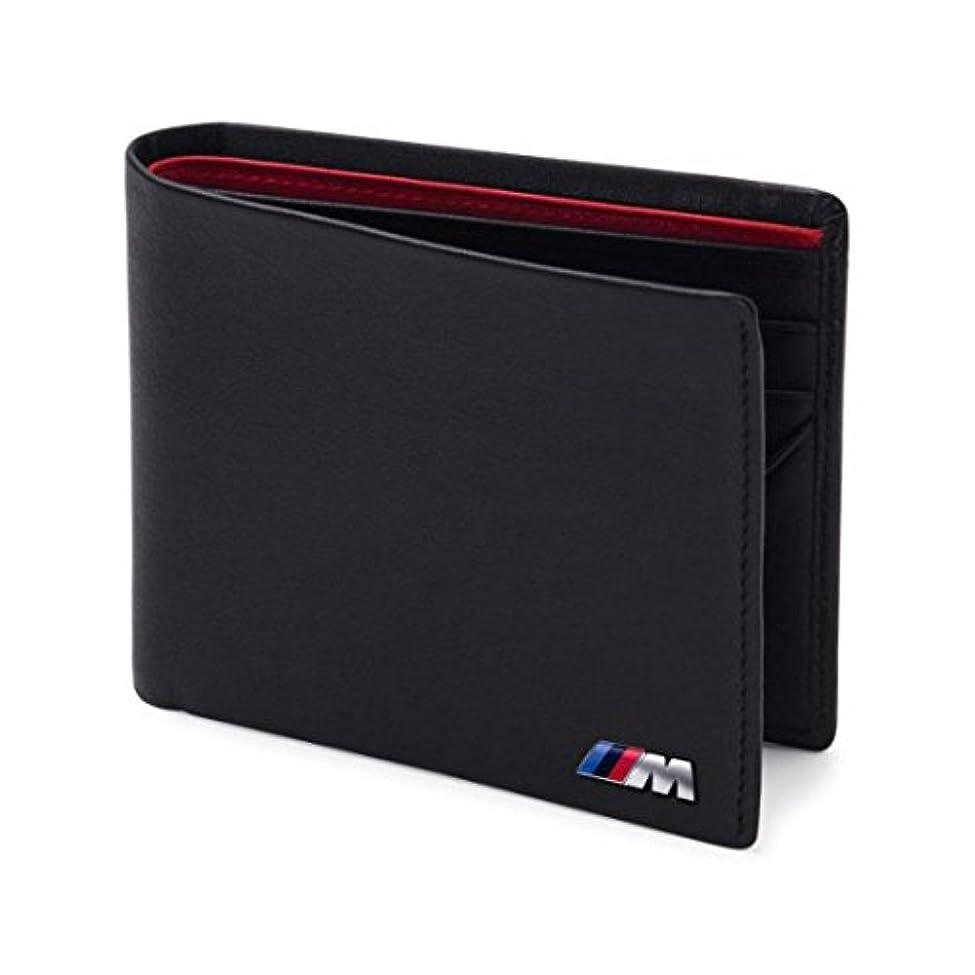 ヶ月目優先権良さBMW 純正工場OEM製品 80210435794 ブラックレザーM財布