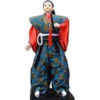 和風の伝統的な戦士忍者人形/ギフト/ジュエリー-A8
