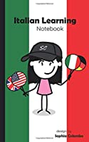 Italian Learning Notebook: Dot Grid Notebook & Bullet Journal for Learning Italian Phrases & Vocabulary | 5x8'' | 60 Pages