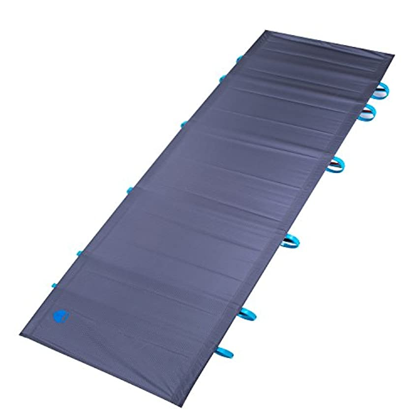 番号技術可能性EL INDIO ポータブル 超軽量 折りたたみ式 シングルキャンプ ベッド 旅行 コット テント ベッド アルミニウム 合金 金属フレーム アウトドア キャンプ ハイキング 釣り ベッド