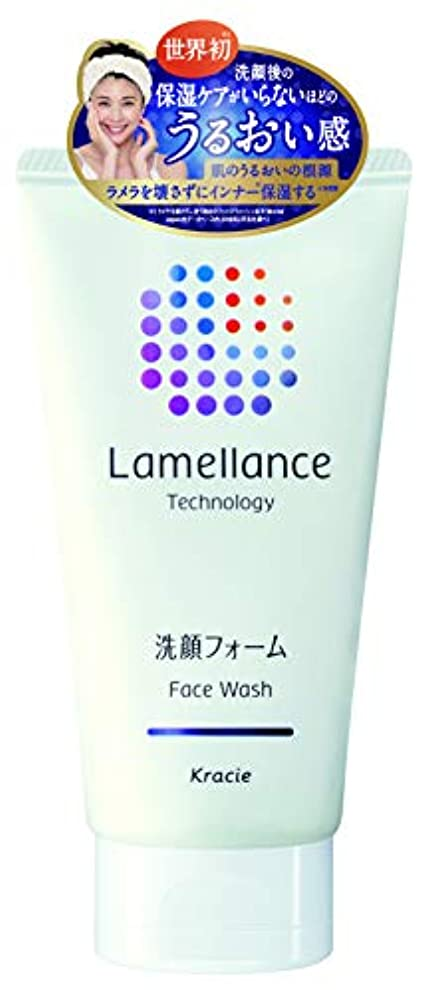 勉強する競争大理石ラメランス フェイスウォッシュ110g(透明感のあるホワイトフローラルの香り) 角質層のラメラを壊さずに洗えるフェイスウオッシュ