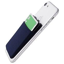 Amazon限定 スマートフォン ポケット シンジポーチ Suica Pasmo Toica Manaca Icoca など 非接触ICカード を入れるなら必須のエラー防止シート付属 国内モデル 販売元が エラー解消まで サポート iPhone / Galaxy / Xperia などに Sinji Pouch Basic 2(ネイビー)