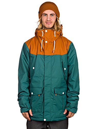 CLWR カラー 15-16 M'S CHARGE JACKET スノーボード ウエア 正規品 S BOTTLE_GREEN
