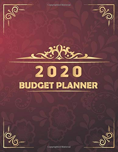 BUDGET PLANNER 2020: Daily Weekly Monthly & Yearly Budget Planner   Bill Payment Log Debt Organizer With Income Expenses Tracker