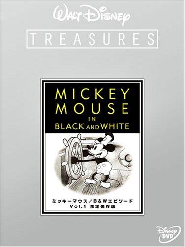 ミッキーマウス/B&Wエピソード Vol.1 限定保存版 (初回限定) [DVD]の詳細を見る