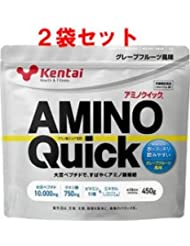 【ケンタイ】健康体力研究所 アミノクイック450g (2個セット)