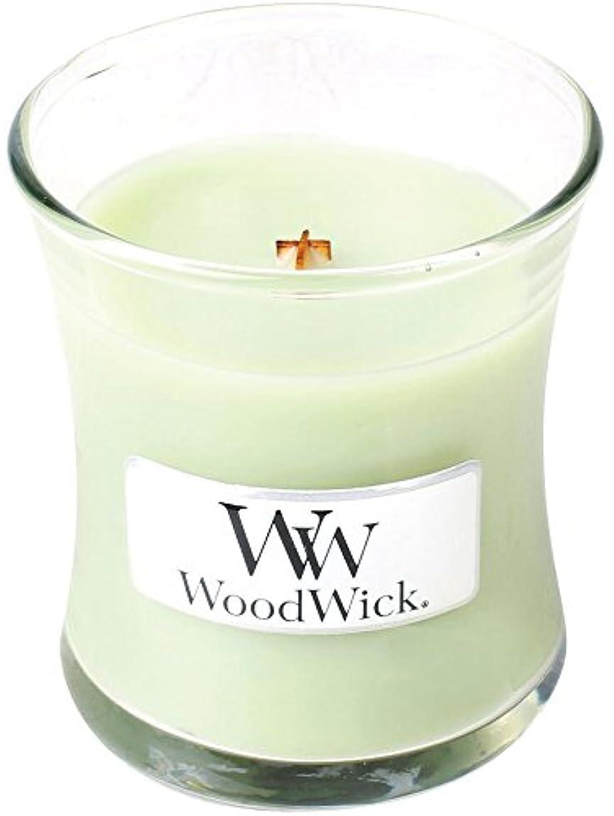 マウントバンクから帽子Wood Wick ウッドウィック ジャーキャンドルSサイズ ライムジェラー