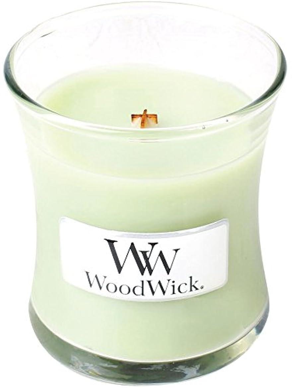 ブラインドバッテリー教科書Wood Wick ウッドウィック ジャーキャンドルSサイズ ライムジェラー