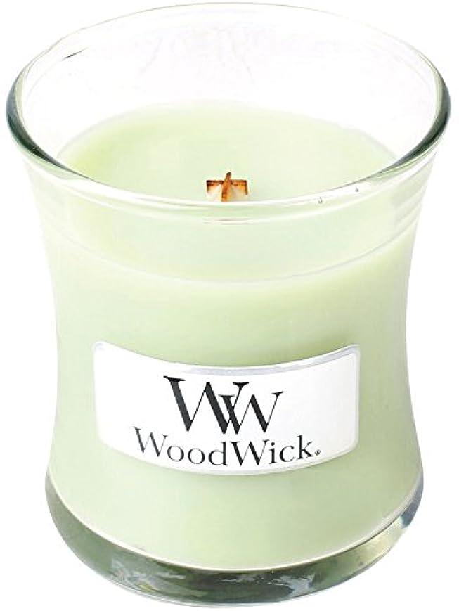 父方の失暗くするWood Wick ウッドウィック ジャーキャンドルSサイズ ライムジェラー