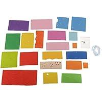 D DOLITY 手作り DIY クラフト 装飾用 着色風鈴 素晴らしい おもちゃ 贈り物