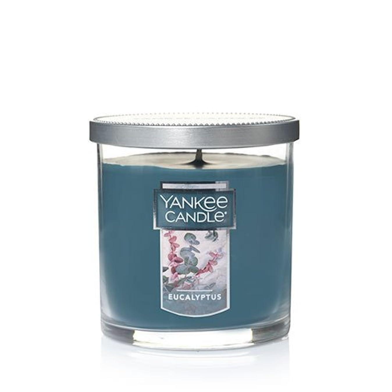アレルギー避ける交通渋滞Yankee Candleユーカリ、新鮮な香り Small Single Wick Tumbler Candle グリーン 1185969Z
