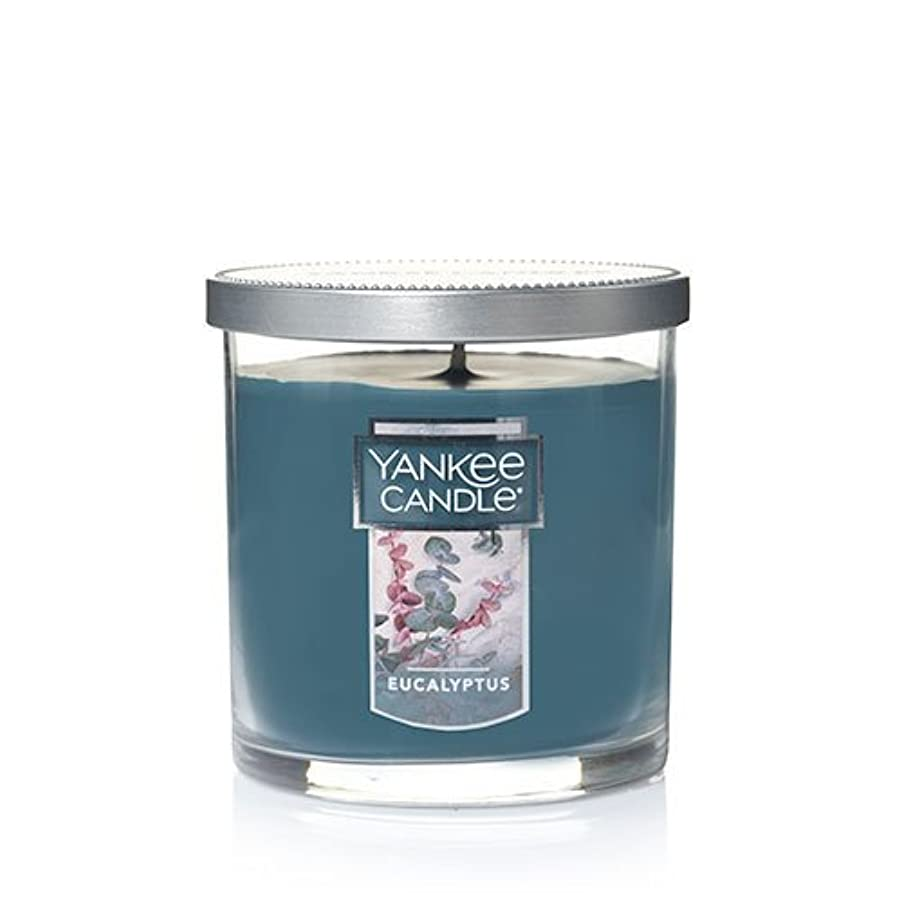 望ましい少し見つけるYankee Candleユーカリ、新鮮な香り Small Single Wick Tumbler Candle グリーン 1185969Z