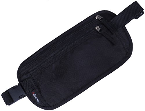 [OneStepAdvance] ウエストポーチ ウエストバッグ パスポートケース スキミング防止 旅行便利グッズ