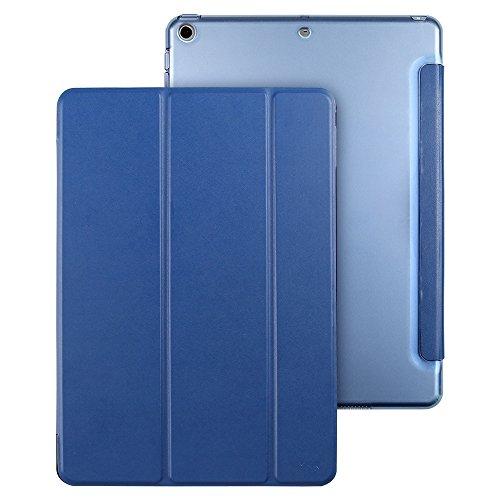 ESR iPad 9.7 2018/2017 ケース 軽量 薄型 レザー 三つ折スタンド オートスリープ機能 スマートカバー 全5...