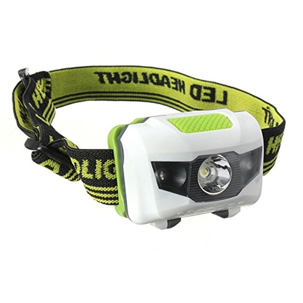 全滅させるピンク脅威JVSISM R3+2LED超高輝度のミニヘッドランプ ヘッドライト フラッシュライト トーチランプライト 300ルーメン 4モードアクセサリー
