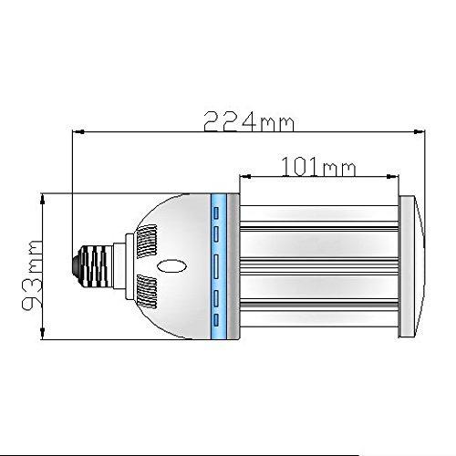 LED電球 E39タイプ LEDコーンライト(コーン型LED電球) 300WLED水銀ランプ代替 38W 4940ルーメン高輝度LEDライト 6000K昼光色 コーン型LEDランプ 360度発光LED蛍光灯 電源LED照明 豊田合成162個LEDチップを搭載する 【明るさ抜群・省エネ・長寿命】