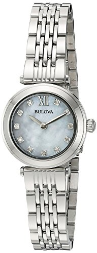 [ブローバ]Bulova 腕時計 Quartz Stainless Steel Dress Watch, Color:SilverToned 96P167 レディース [並行輸入品]
