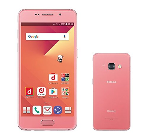 docomo Galaxy Feel SC-04J Opal Pink