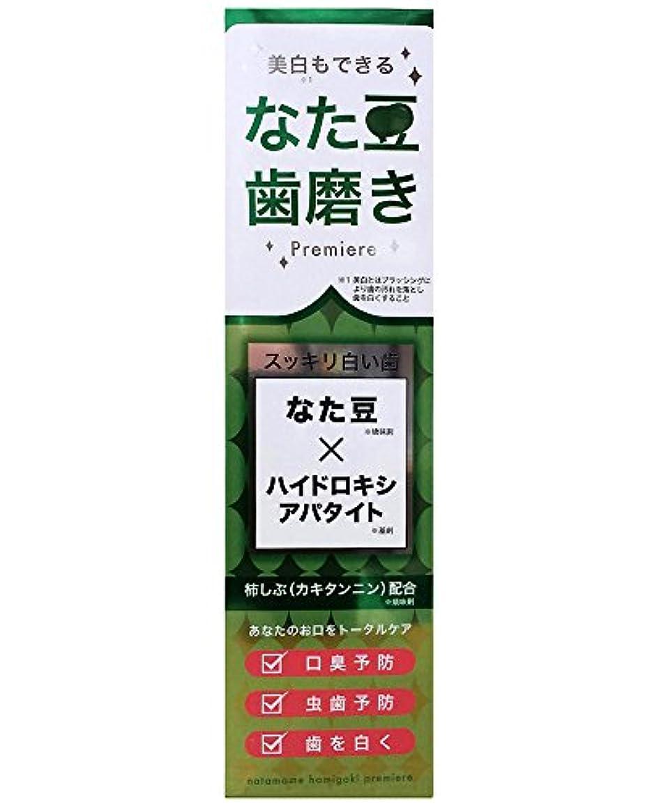 スキャンダル後退する可聴なた豆歯磨きプレミア 120g