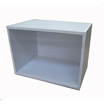 コーナン オリジナル 1段カラーボックスα KR18-3794-WH ホワイト 幅418×奥行290×高さ304mm