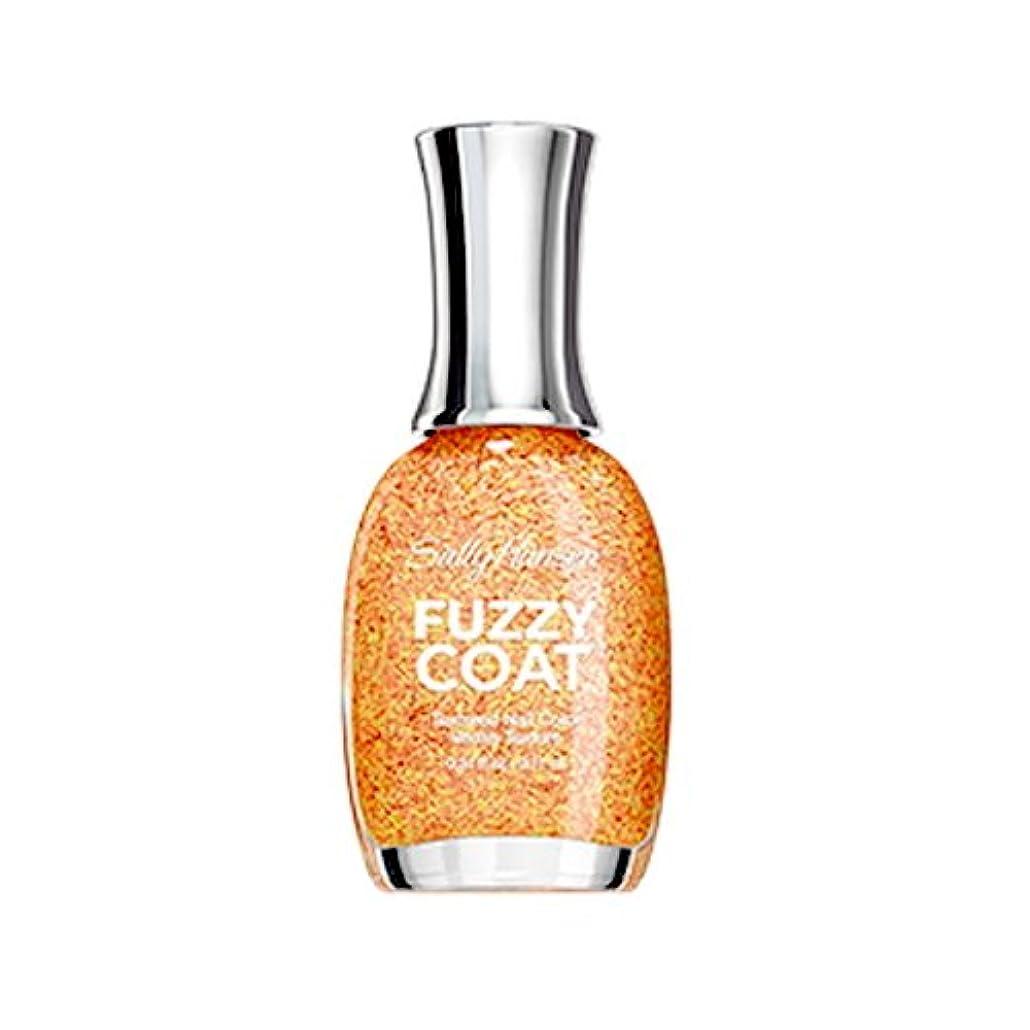 粒かすかなの慈悲で(3 Pack) SALLY HANSEN Fuzzy Coat Special Effect Textured Nail Color - Peach Fuzz (並行輸入品)