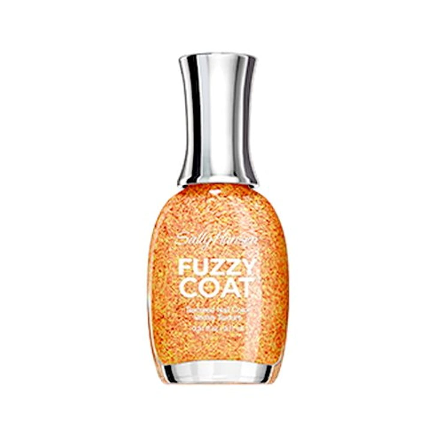 リブ分散リーダーシップSALLY HANSEN Fuzzy Coat Special Effect Textured Nail Color - Peach Fuzz (並行輸入品)