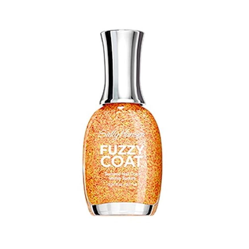 肉腫誤解幻想的(6 Pack) SALLY HANSEN Fuzzy Coat Special Effect Textured Nail Color - Peach Fuzz (並行輸入品)