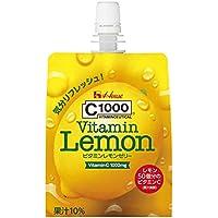 ハウスウェルネスフーズ C1000 ビタミンレモンゼリー 180g×6個