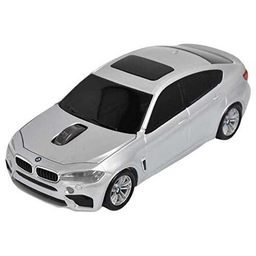 LANDMICE BMW X6シリーズ 無線カーマウス 2.4Ghz 1750dpi シルバー BM-X6M-SV LANDMICE [簡易パッケージ品]