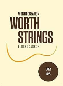 Worth ( ワース弦 ) BM フロロカーボン弦セット ソプラノ/コンサート ( ウクレレ弦 ブラウン ミディアム )