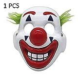 ハロウィーン ピエロマスク ハロウィン・クリスマス ピエロマスク パーティークラブ 誕生日 雰囲気盛り上げ DC Movie Cosplay Joker Mask Halloween Masks