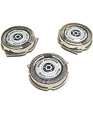 シェーバー 替刃 替え刃 カミソリ ヘッド 交換用替刃 替刃3個入り フィリップス SH50 S5091 S5080 S5076 S5420 5082 に適用