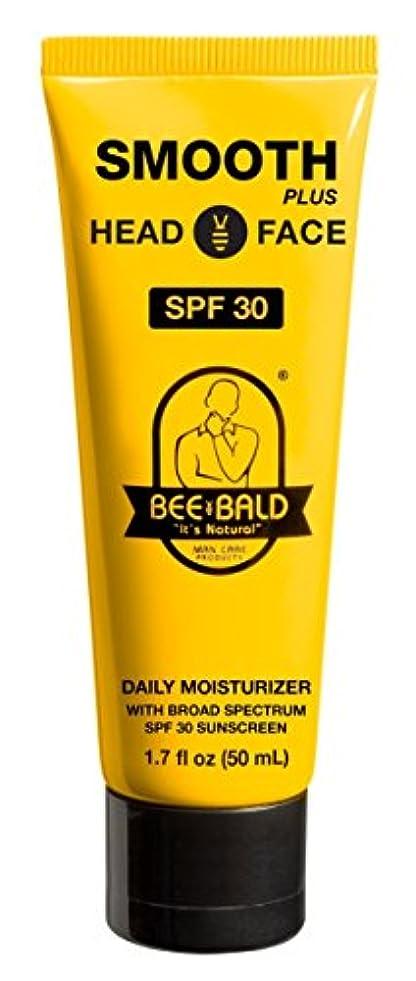 倒錯例示するブレースBee Bald SPF 30幅広いスペクトルとのスムーズなプラス毎日の保湿剤